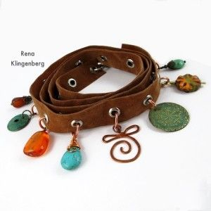 Grommet Wrap Charm Bracelet (Tutorial)