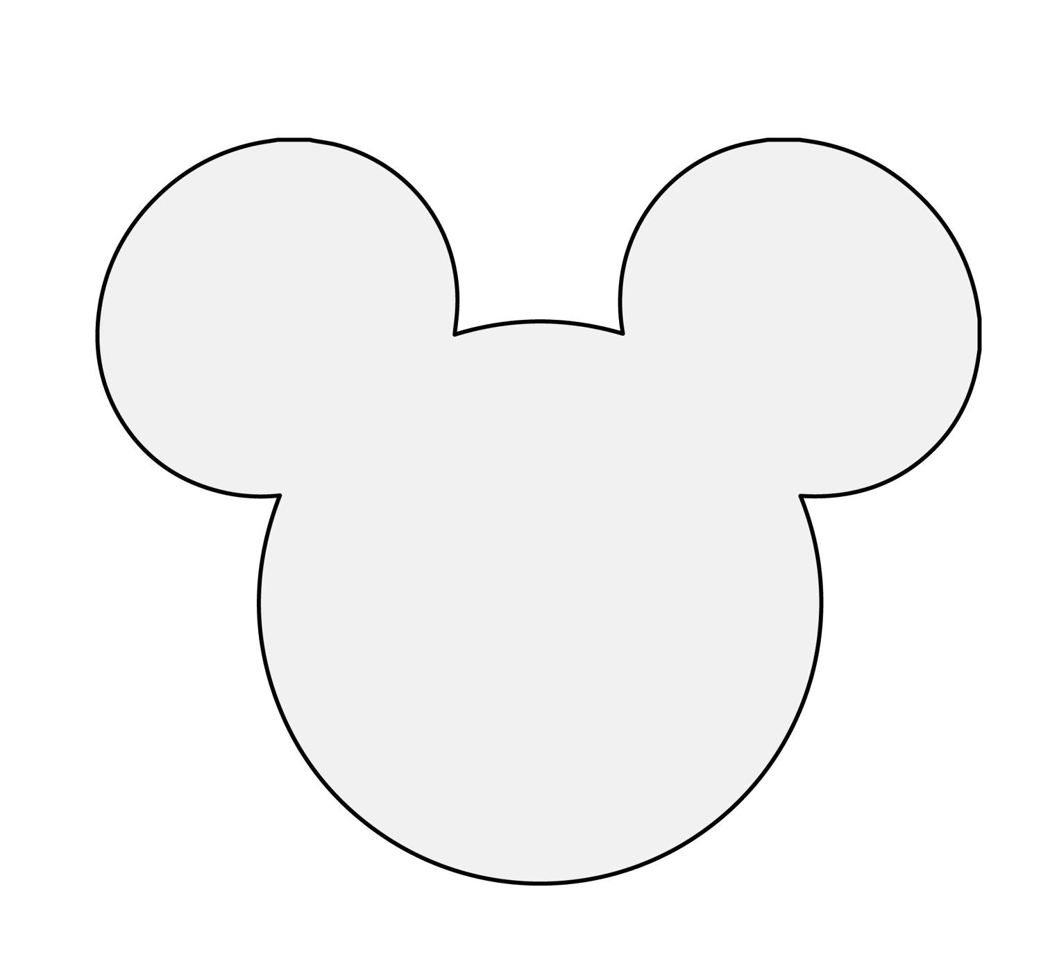 photo about Free Printable Mickey Mouse Silhouette named Pin upon Disney Programs