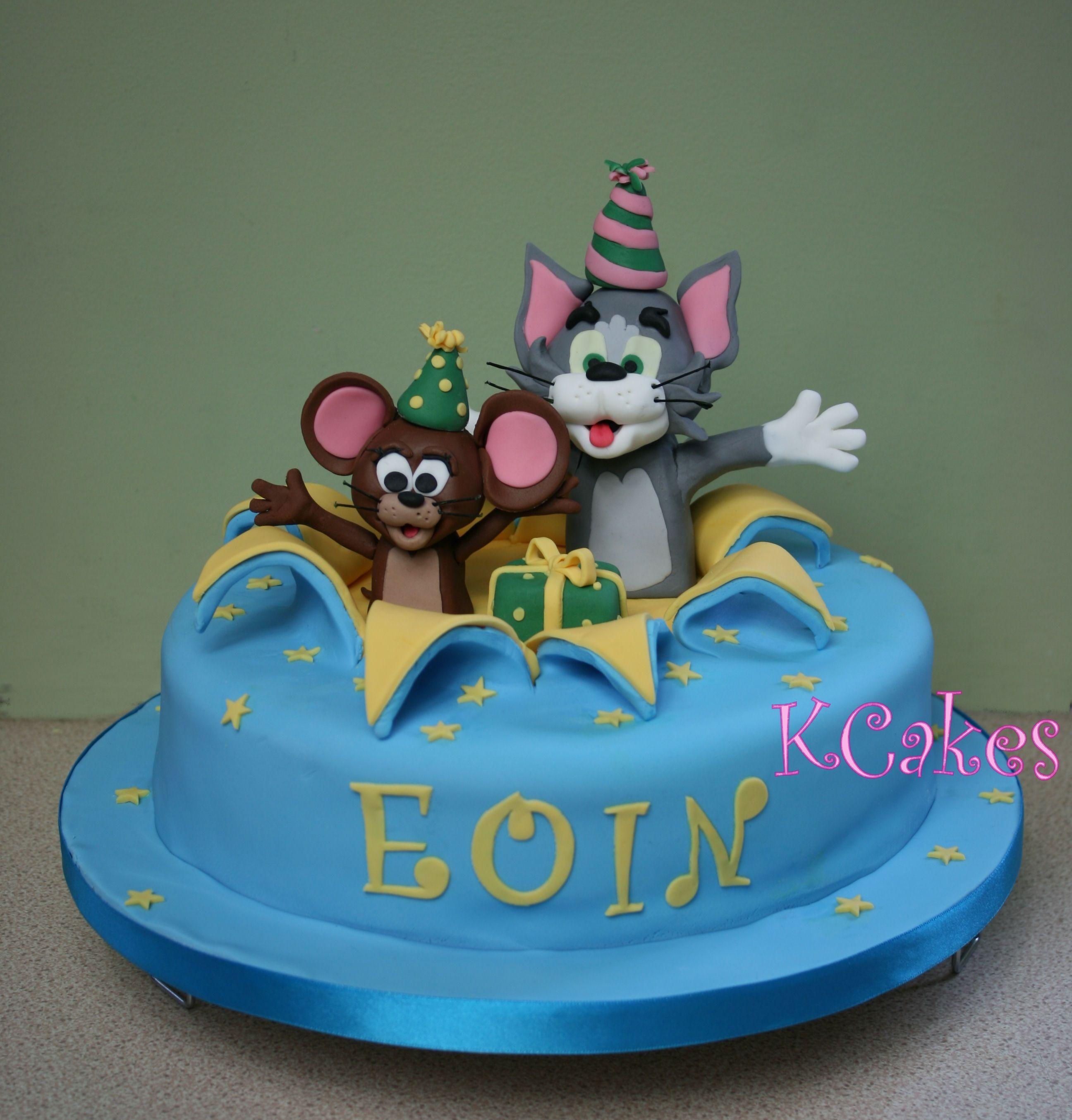 Tom Jerry Tom And Jerry Cake Birthday Cake Kids Childrens