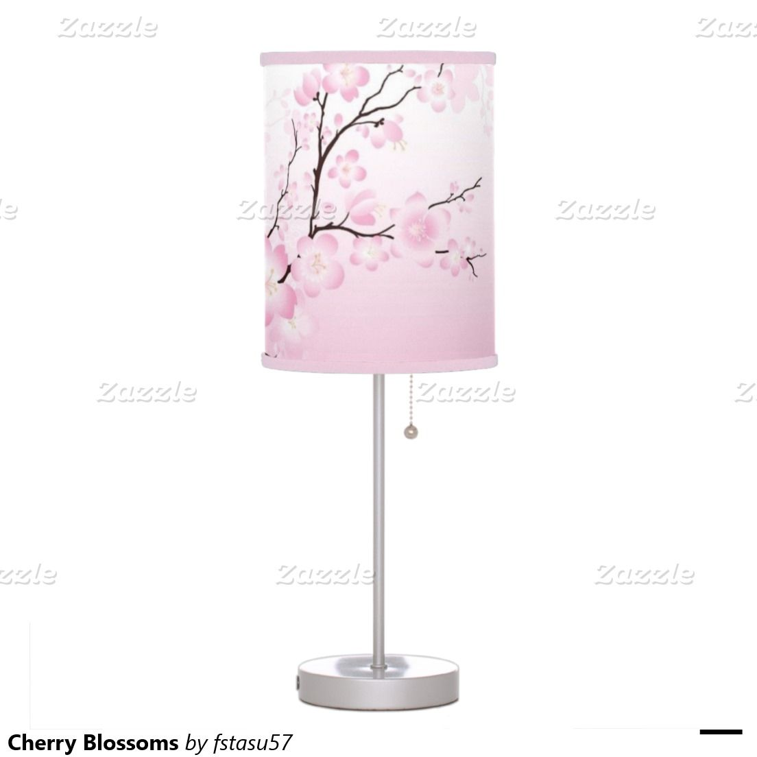 Cherry Blossoms Table Lamp Zazzle