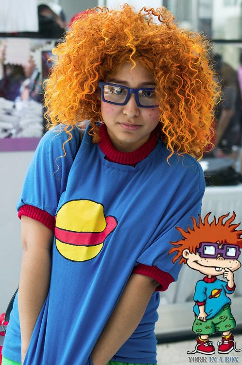 Chuckie from Rugrats - Awesome Halloween Costume Idea!  sc 1 st  Pinterest & Chuckie from Rugrats - Awesome Halloween Costume Idea! | Costumes ...