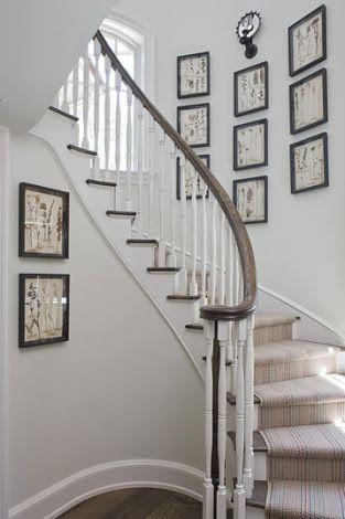 Como Decorar La Pared De Una Escalera
