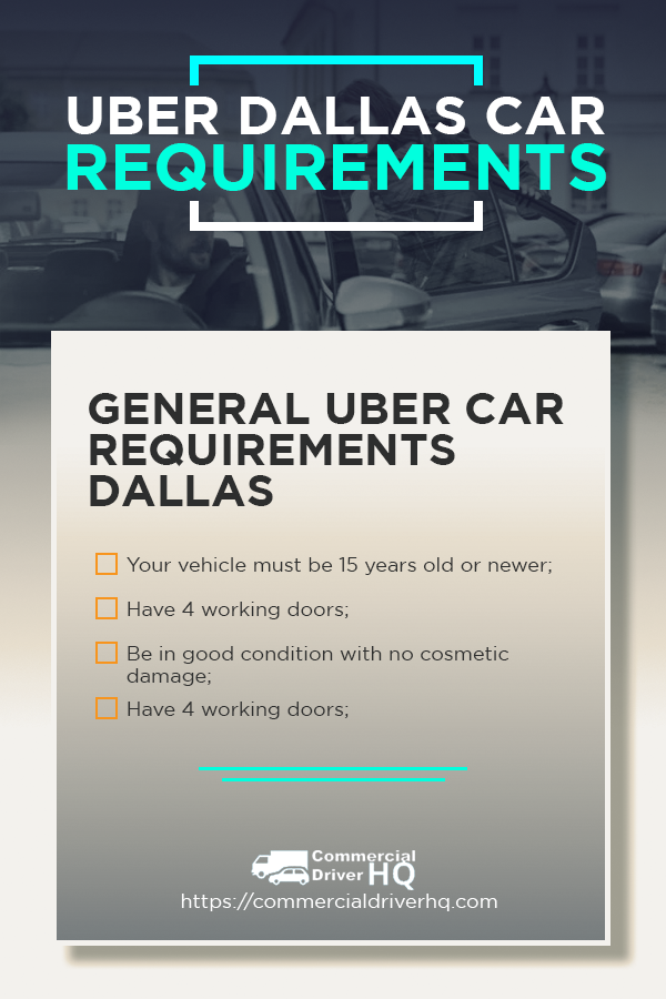 Uber Dallas Car Requirements For Uber Select And Uber Black In