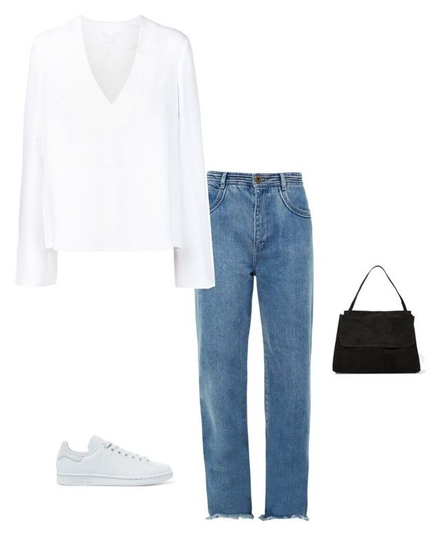 """""""#101"""" by driasmode ❤ liked on Polyvore featuring Chloé, Cushnie Et Ochs, adidas Originals, The Row, Summer and simple"""