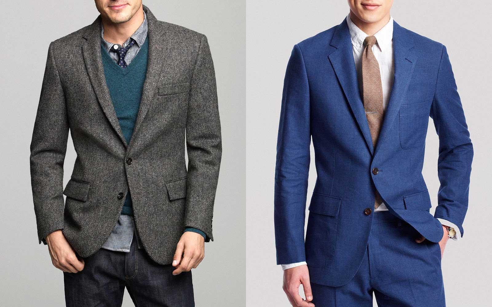 Sport Coat vs. Blazer vs. Suit Jacket