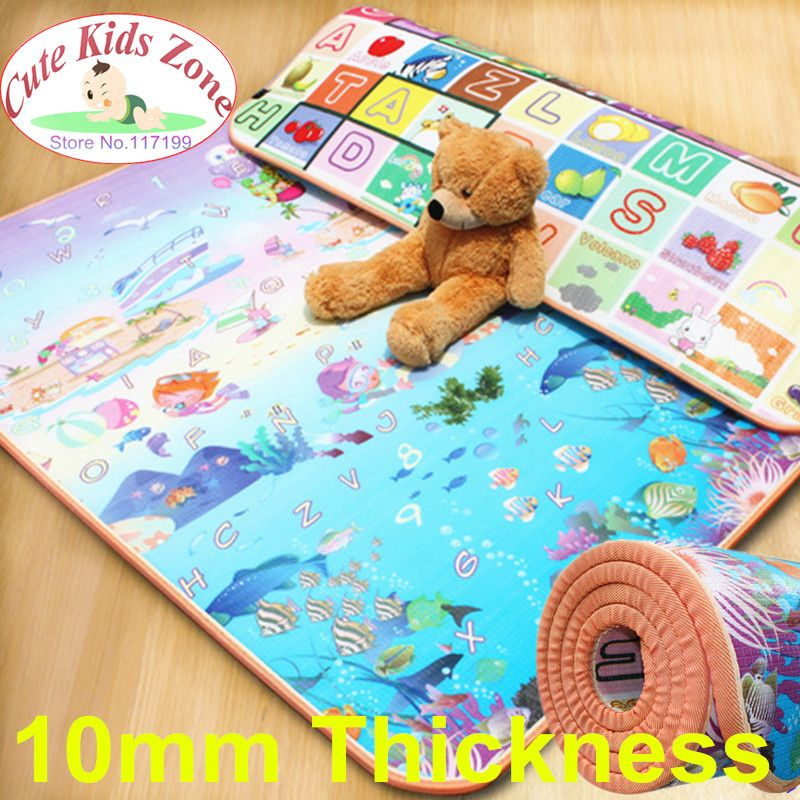 10mm Thick Durable Foam Play Mat 70x118cm 180x150cm Only 46 00 Free Shipping Worldwide Kids Baby T Kids Playmat Baby Crawling Mat Baby Play Mat
