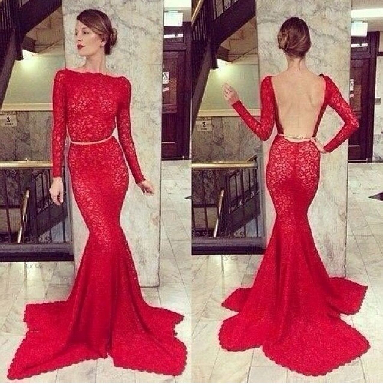 Luxurious red gown the thing i love pinterest red gowns gowns