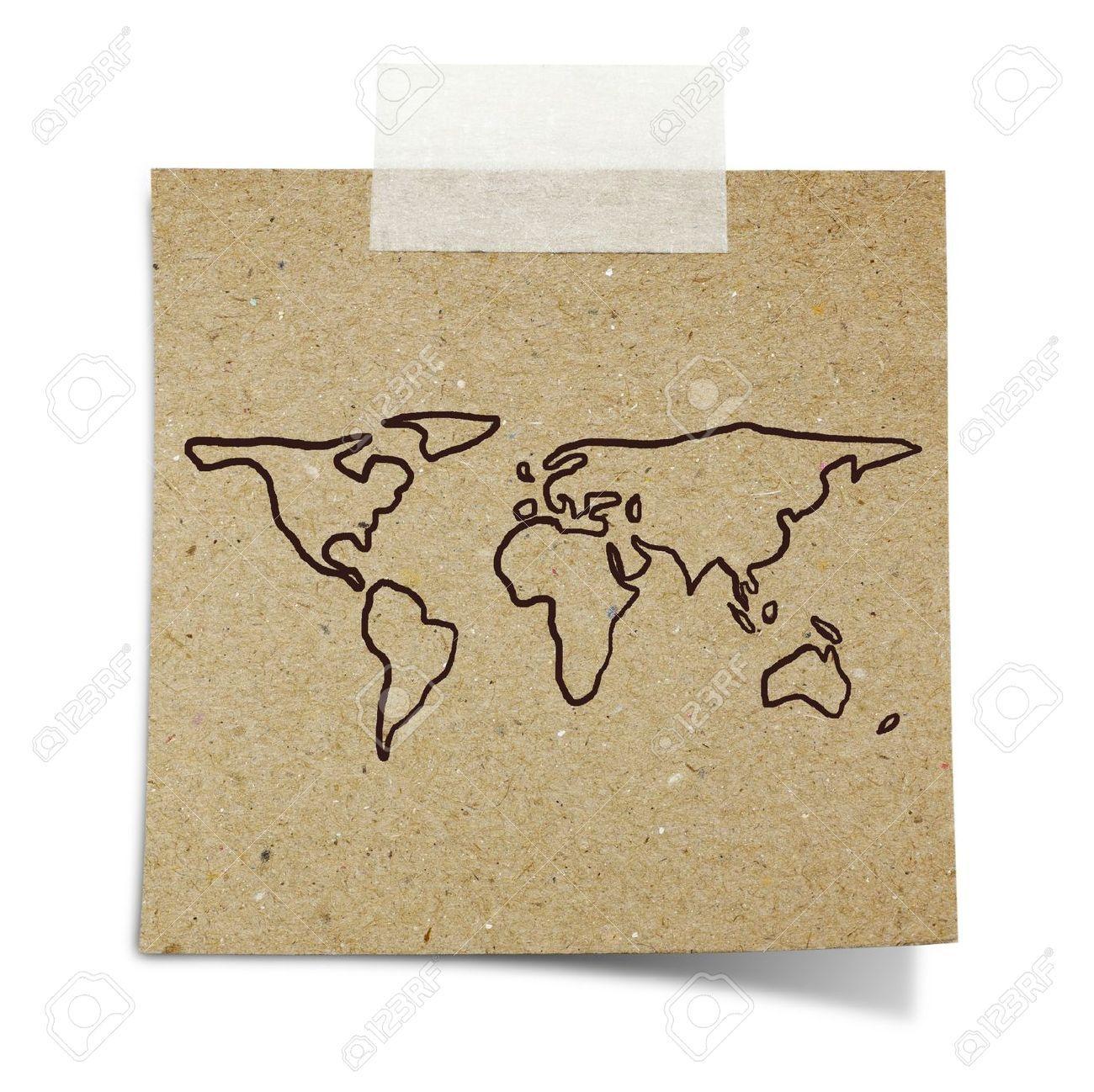 Vintage world map stock vector illustration and royalty free vintage world map stock vector illustration and royalty free gumiabroncs Image collections