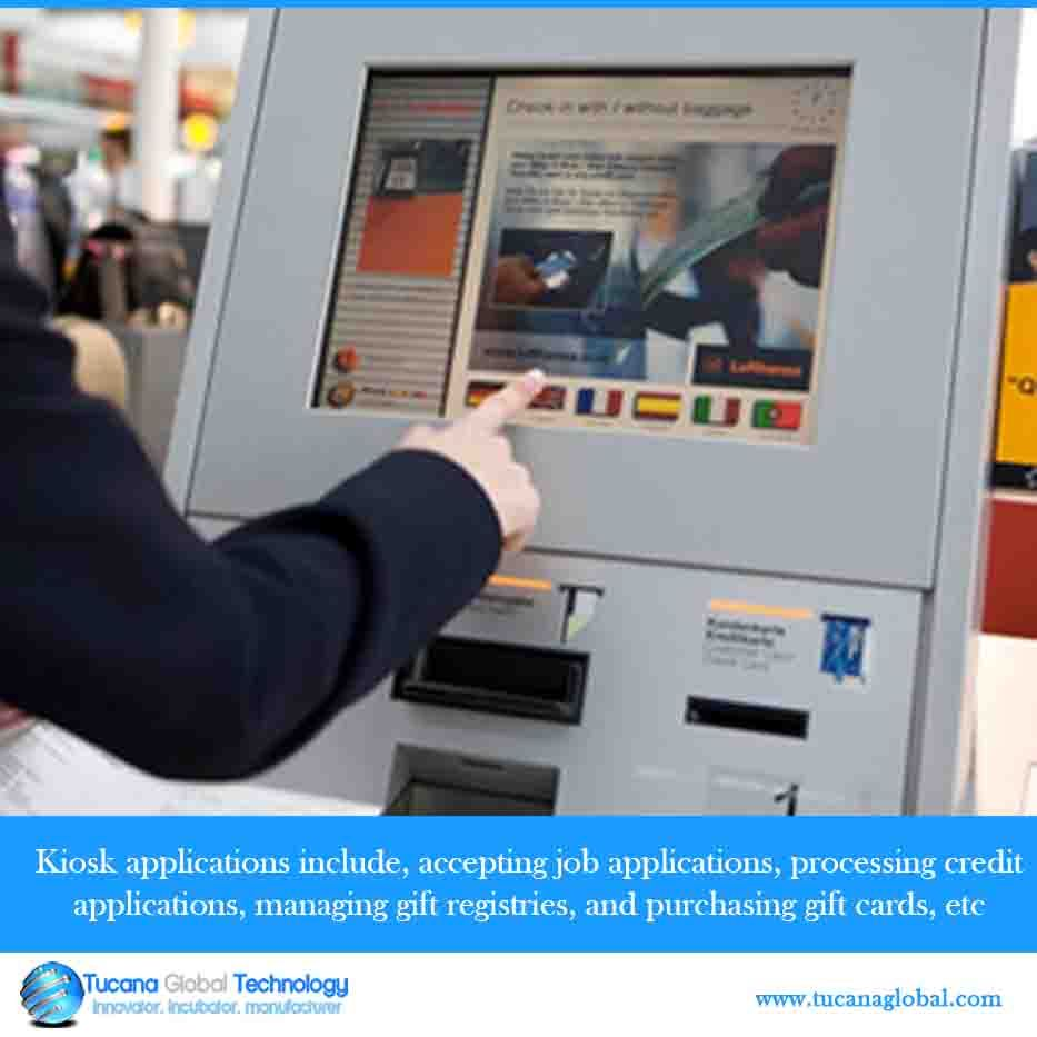 Kiosk Applications Include Accepting Job Applications
