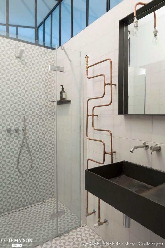 Salle de bain d\u0027architecte  6 exemples en photos Pinterest