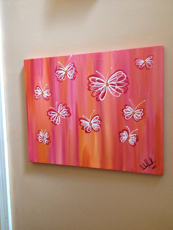 Pin By Zion Thomas On Art Butterfly Painting Butterfly Acrylic Painting Art Painting
