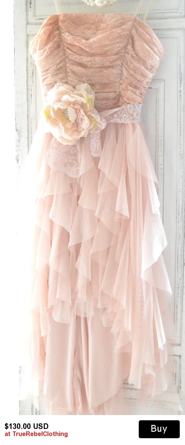 Easter Dresses, Boho sundresses, Tulle lace prom dress, Romantic ...