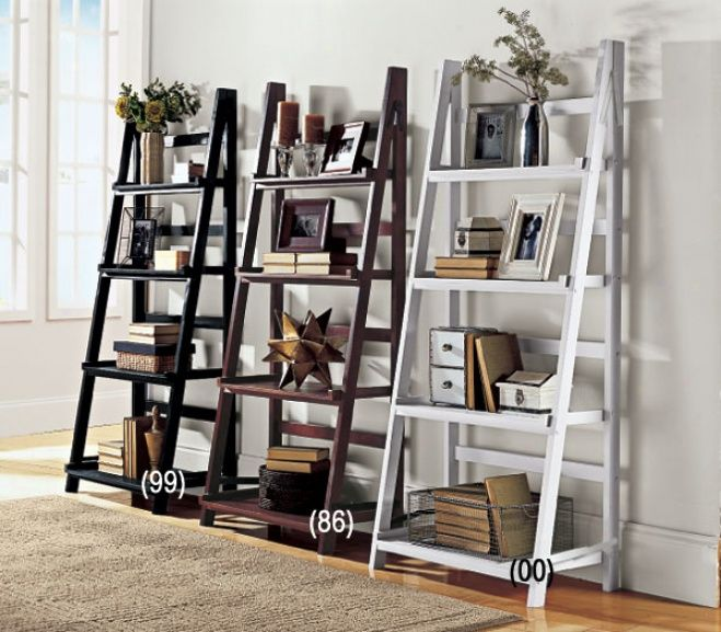 Picture Of Ladder Style Bookcase @ Images Nation Dot Com Pictures Gallery