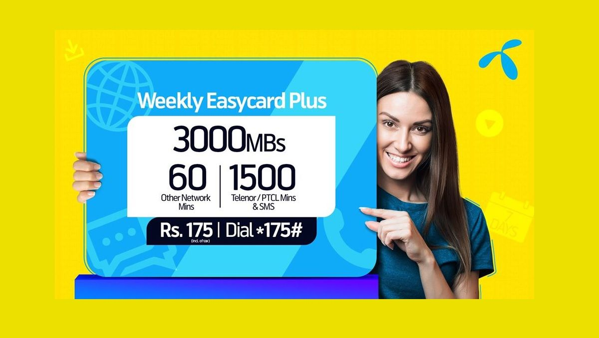 Get These Incentives With Telenor Weekly Easycard Plus Simple Cards Cards Propose Day