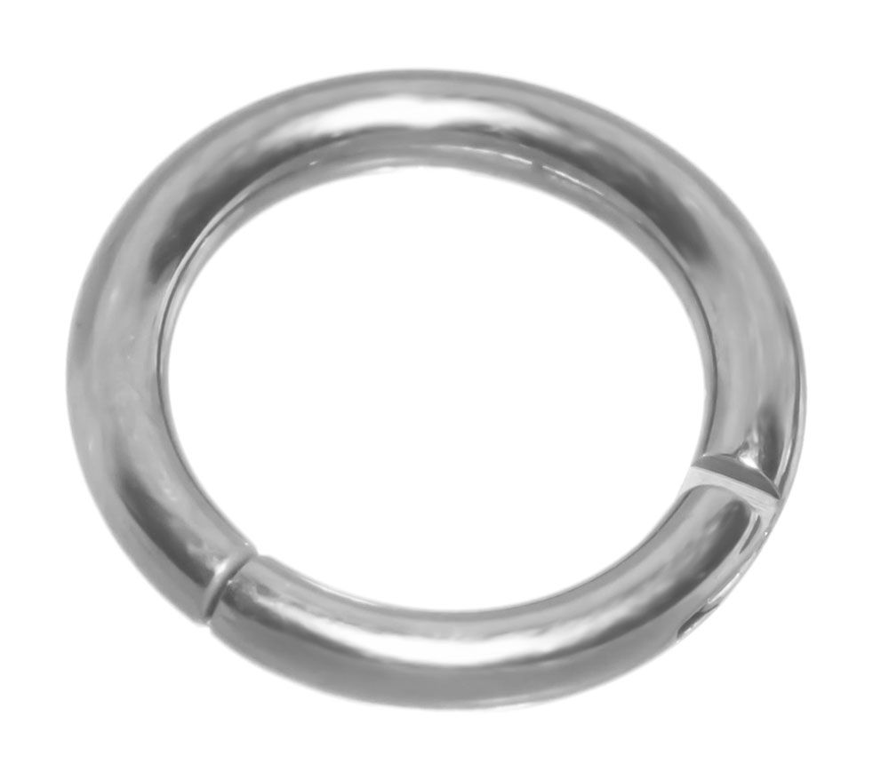 Hinged Steel Segment Ring-16g-14g-Septum Jewelry-Lip-Nose-Tragus-Hoop-Cartilage Earring