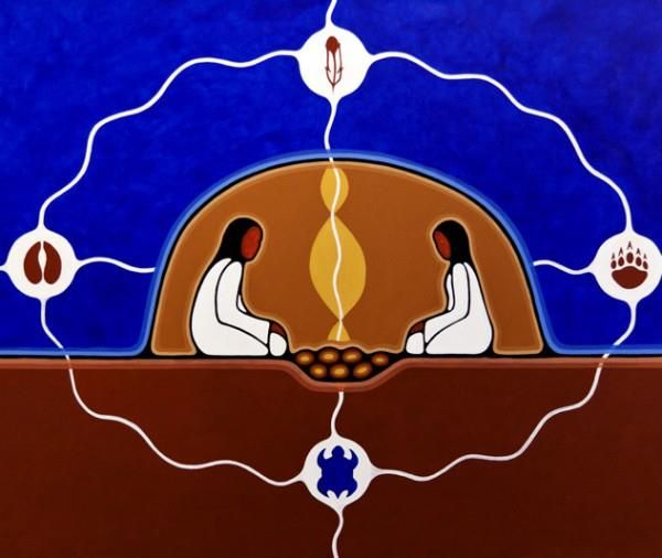 Mystic Crone: A message from Mother Earth to Sweat Lodge