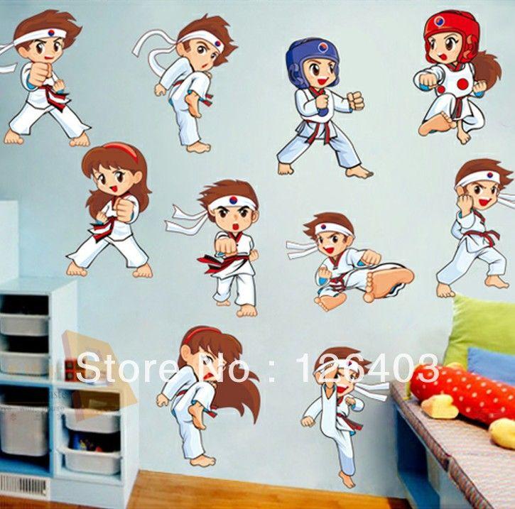 Girl Taekwondo Room Decor