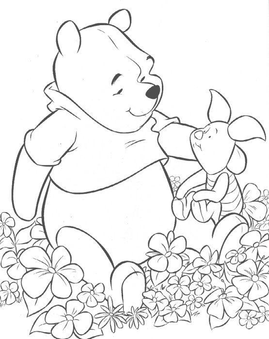 kleurplaten van winnie the pooh