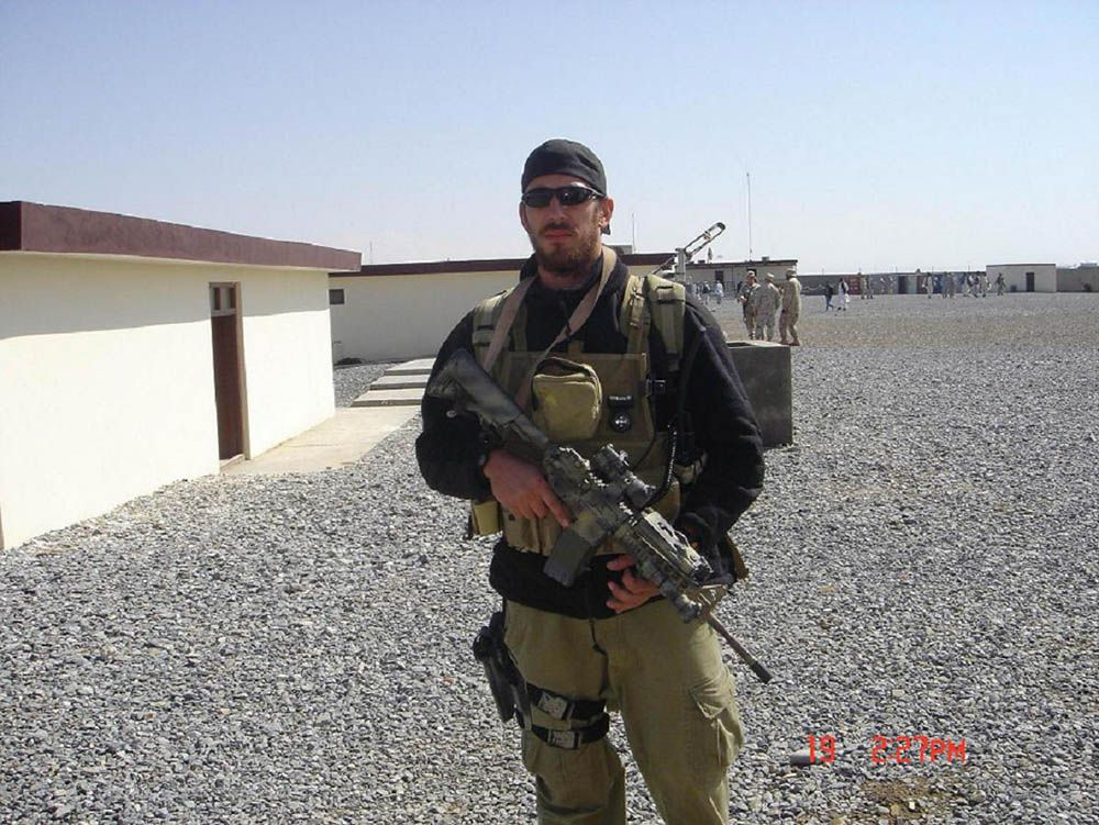 Derek Argel was assigned to the 23rd Special Tactics