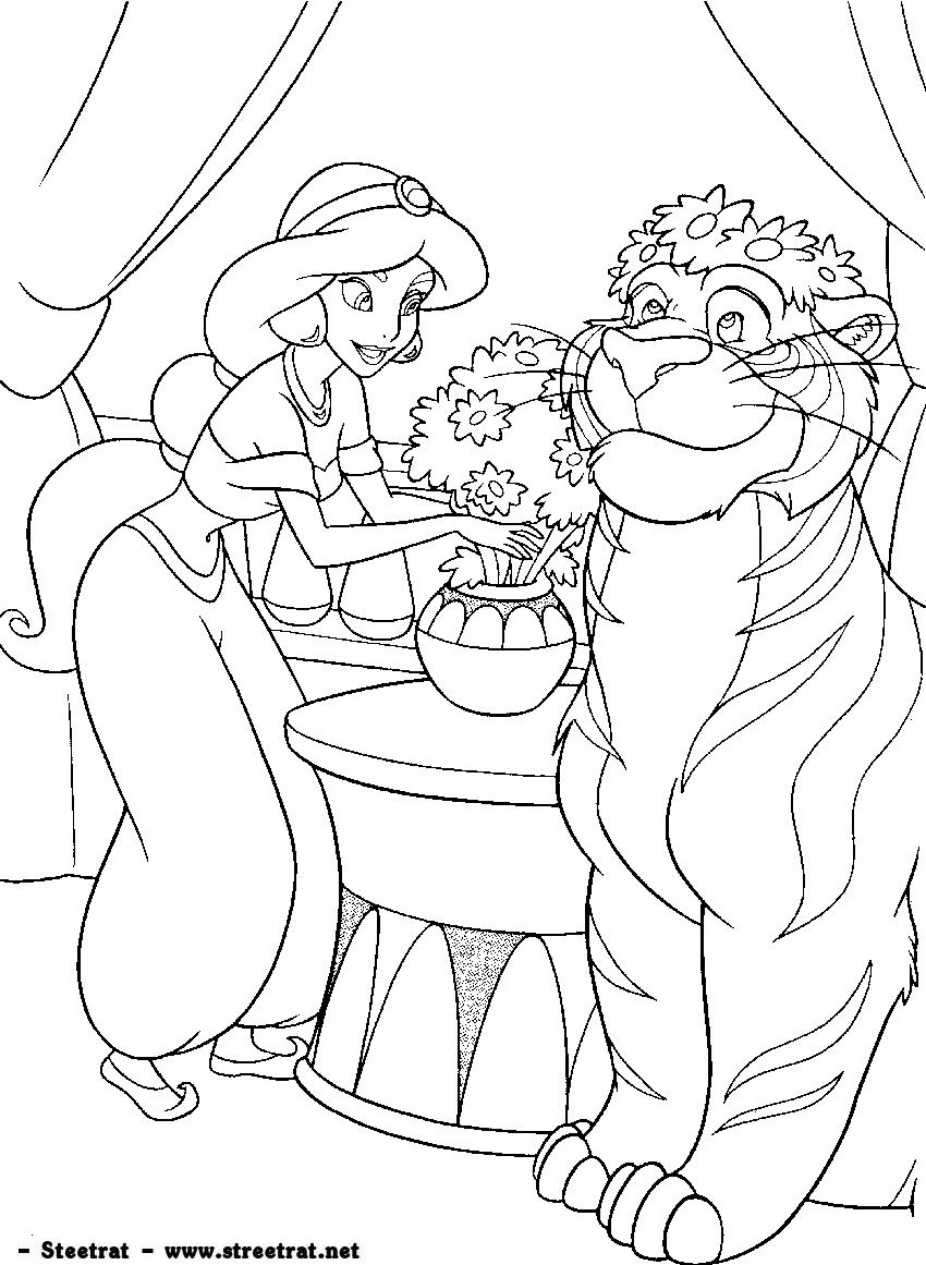 Disney-princess-coloring-27  Coloriage walt disney, Coloriage