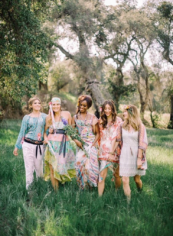 Bohemian bridal shower inspiration | fabmood.com #bridalshower #wedding