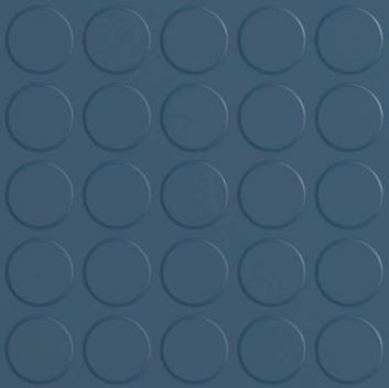 Dark Blue Studded Rubber Flooring Tiles