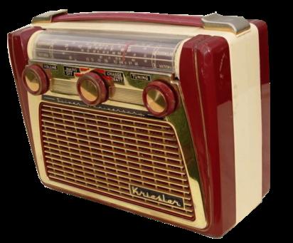 E Limited Edition Silver Anniversary Kriesler Radio Vintage Radio Antique Radio Retro Radios