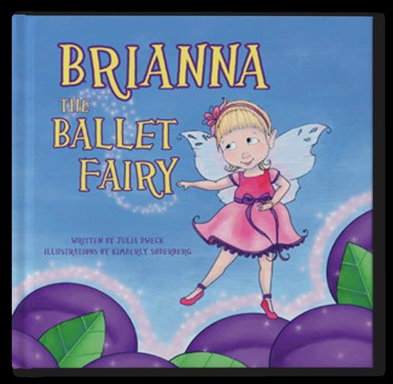 The Ballet Fairy - Personalized Children's Book - Birthday gift for girls. Personalized Gift for kid