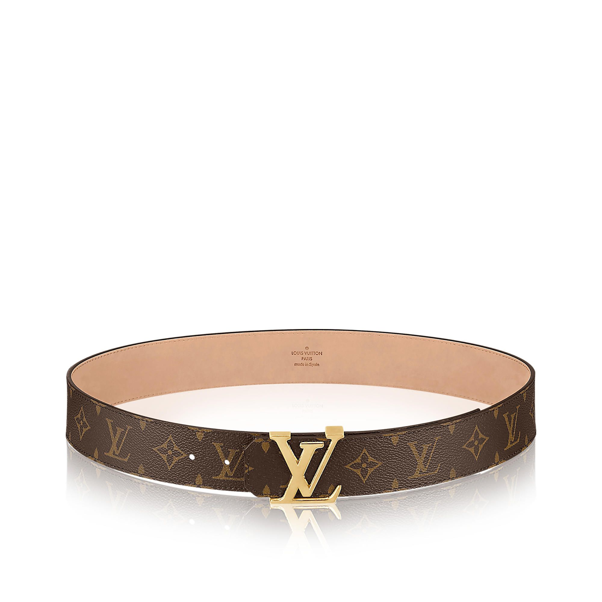 849c7e5d61 Louis Vuitton cintura LV Initials 40mm Tela Monogram | vestiti ...