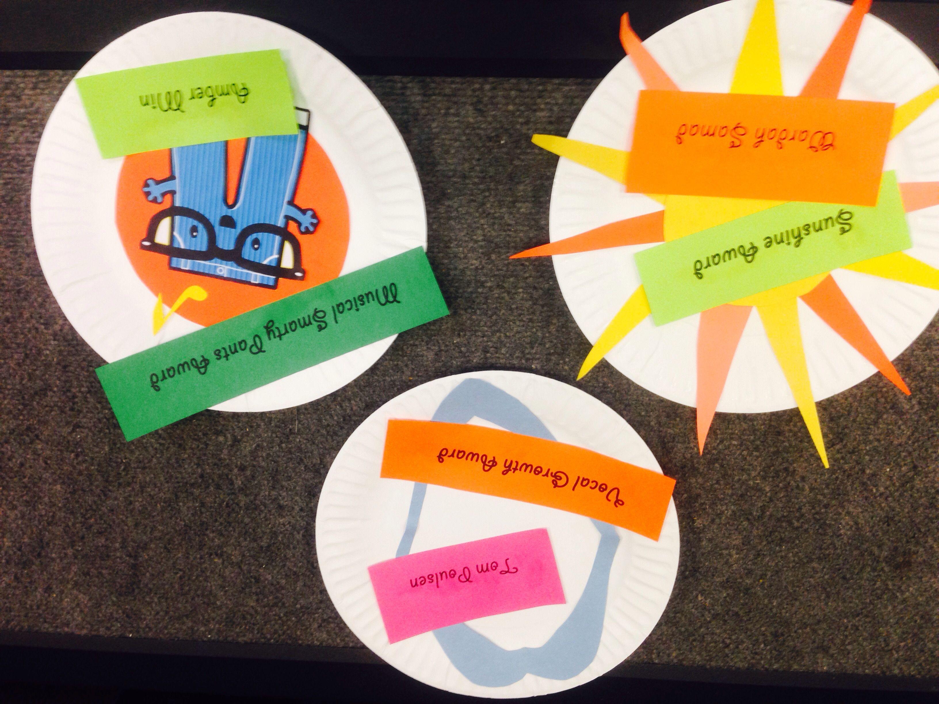 Paper Plate Awards Paper Plates Choir Greek Chorus & Pin by Jodi Johnston on Choir paper plate awards | Pinterest ...