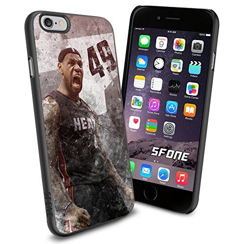 """LeBron James All Star NBA iPhone 6 4.7"""" Case Cover Protector for iPhone 6 TPU Rubber Case SHUMMA http://www.amazon.com/dp/B00WJCA6H4/ref=cm_sw_r_pi_dp_yTmovb01PDSY7"""