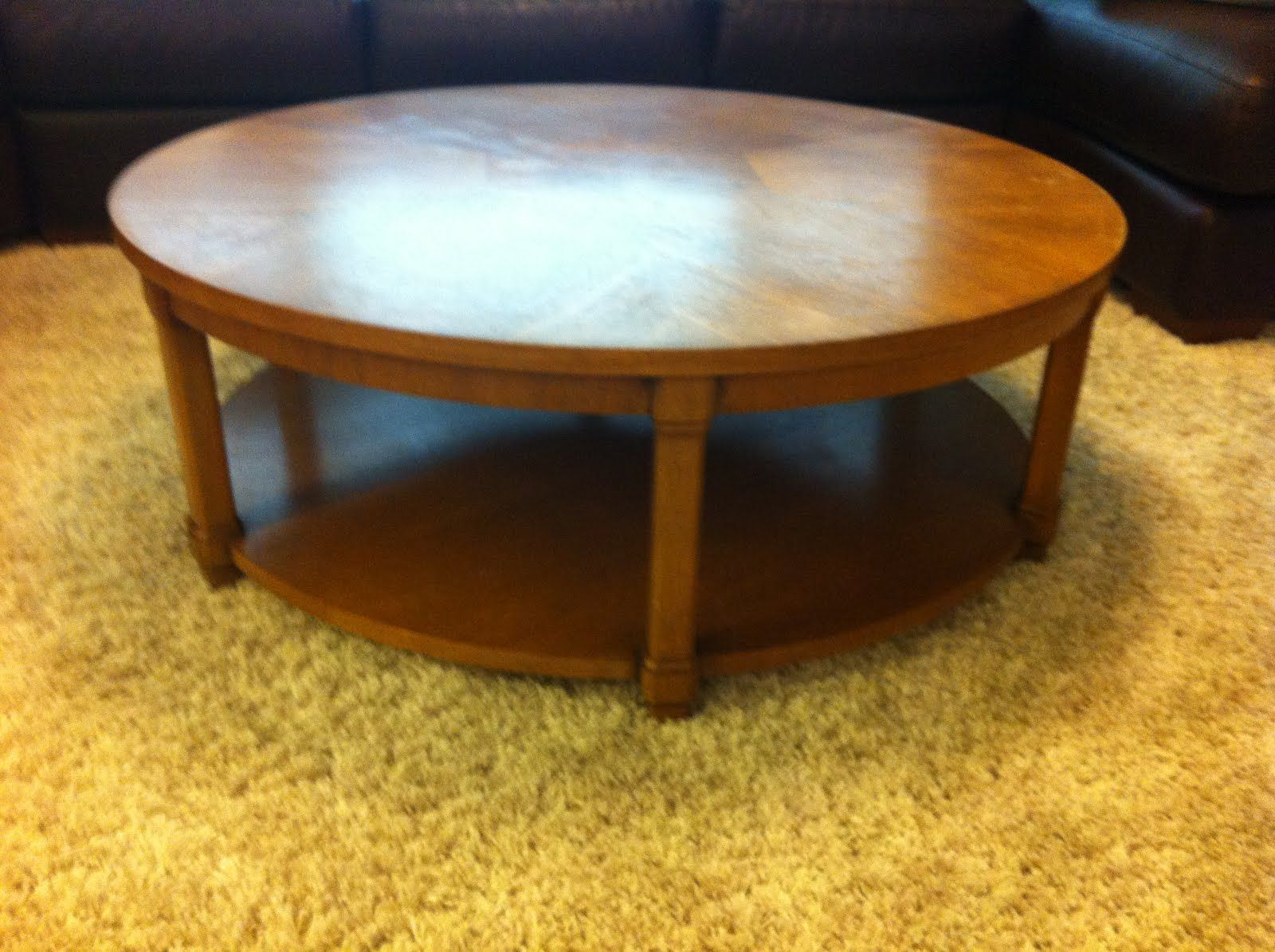 The Divine Living Space Blog: Coffee Table Turned Ottoman