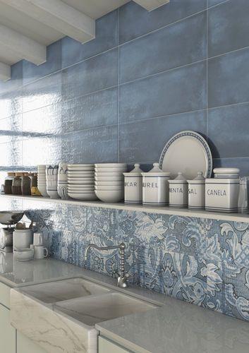Piastrella a muro / in ceramica / lucida / rustica LATERZA ...