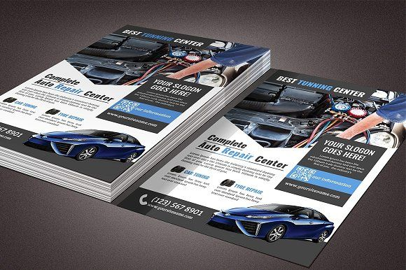 Car Repair Flyer Template @creativework247 Templates - Templates - car flyer template