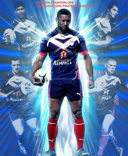 An Nrl Blog Nrl 2012: France Rugby League PUMA 2012 Home Kit