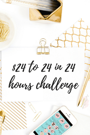 24 to 24 in 24 hours challenge, Mary kay Mary kay sale