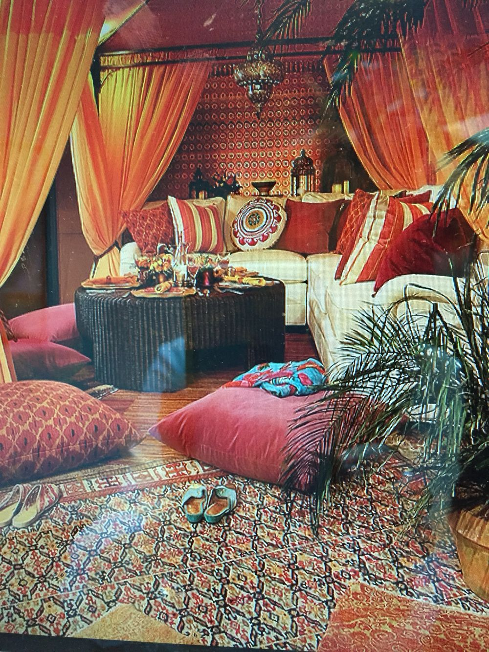 Moroccan Home Decor Ideas Part - 42: Pin By Carol Hines On She Sheds | Pinterest | Bohemian, Boho Chic Bedroom  And Canopy