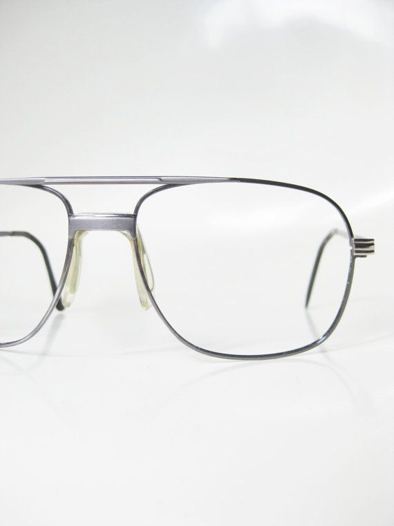 08592fffea3 Wire Rim Aviator Eyeglasses Mens Guys Homme 1970s 70s Seventies Silver  Metallic Shiny Chrome Oversized Huge Indie Hipster Chic Geeky Geek