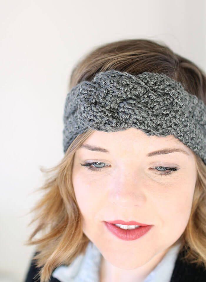 Sailor Knot Crochet Headband - Free Pattern   Pinterest   Crochet ...