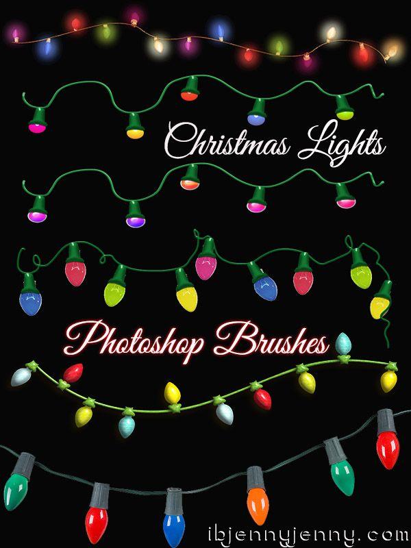 Santa S Photoshop Christmas Brushes Lights Toys And Littlest Petshop Free Christmas Photoshop Free Christmas