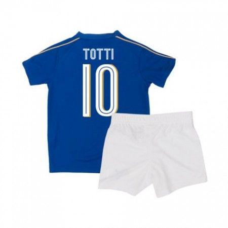 Italien Trøje Børn 2016 Frankrigsco #Totti 10 Hjemmebanetrøje Kort ærmer,199,62KR,shirtshopservice@gmail.com