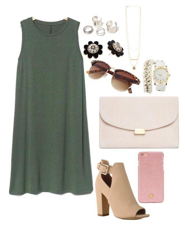 """""""Casual date"""" by paytton-white on Polyvore featuring Gap, Mansur Gavriel, Tory Burch, Charlotte Russe and Kate Spade"""