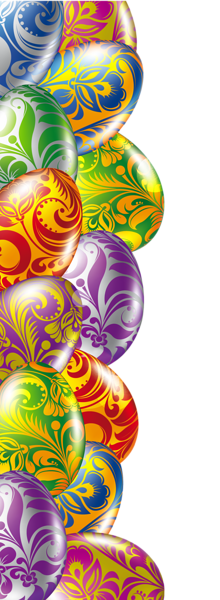 Easter Eggs Border Transparent Png Picture Easter Egg Pictures Easter Frame Easter Images