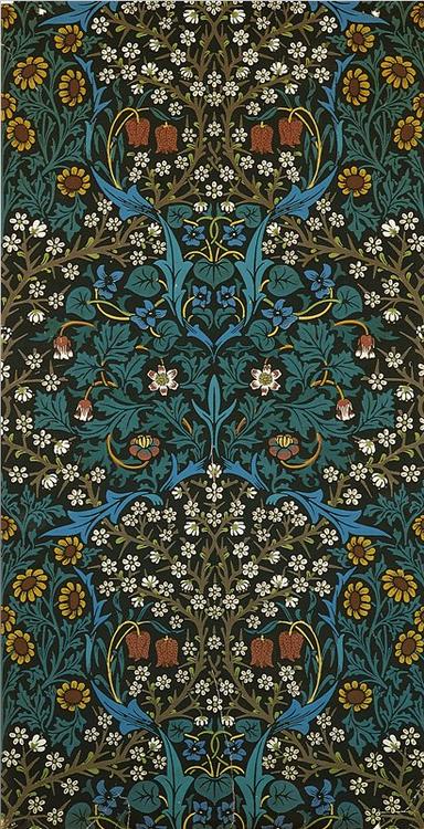 The Revival Of William Morris Decorative Arts Patterns