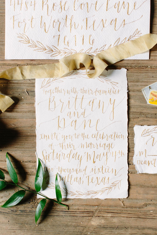 Wedding invitation suite fort worth wedding inspo pinterest