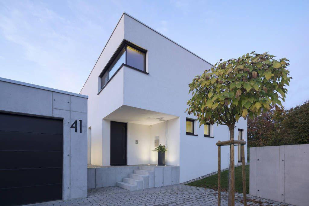 Moderne Häuser Bilder: Einfamilienhaus KN08 auf dem Schurwald ...