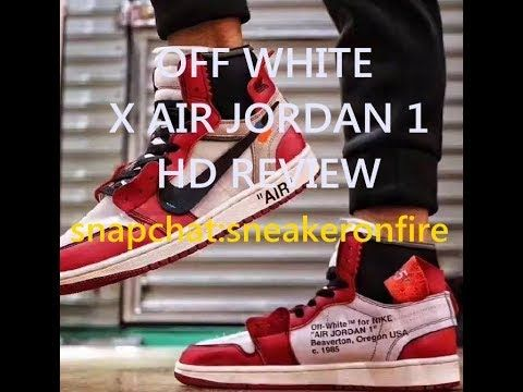 The Off-White™ x Air Jordan 1 HD Review From sneakeronfire.us ... c7a6caa96