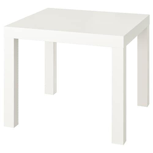 Tingby Beistelltisch Mit Rollen Weiss Ikea Deutschland In 2020 Ikea Side Table Ikea Lack