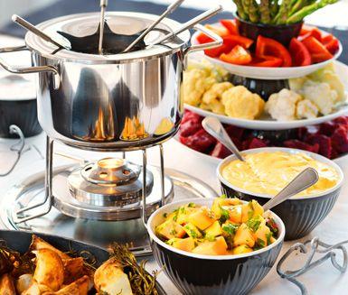 recept fondue buljong