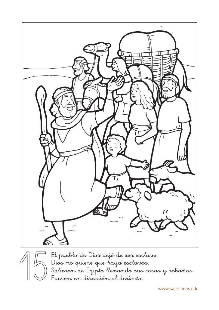 ME ABURRE LA RELIGIÓN: HISTORIA DE MOISÉS PARA COLOREAR | Moses ...